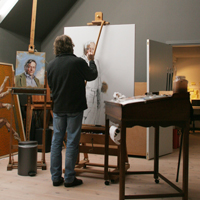 Work in the Studio
